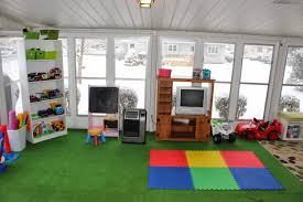 play room ideas organizing for six our playroom in the sunroom