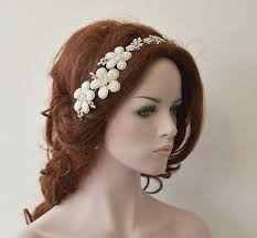 hair accessories headbands wedding hair accessory bridal headbands rhinestone and pearl