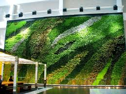 garden wall plants greenroofs com projects 23 story atrium living wall