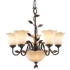 Bronze Chandelier Shop Allen Roth Eastview 25 5 In 7 Light Dark Oil Rubbed Bronze