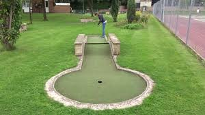 crazy golf at wellholme park in brighouse hole 3 1 of 2 youtube