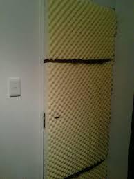 Sound Dening Interior Doors Luxary Soundproof Interior Door