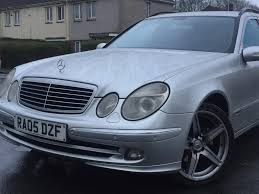2005 mercedes estate automatic e270 cdi avantgarde a 2 7 diesel