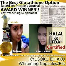Pemutih Kb kyusoku bihaku glutathione review kb review kyusoku bihaku testi