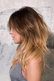 Frisuren Lange Haare Stufen Glatt by Die Besten 25 Stufenschnitt Lange Haare Ideen Auf