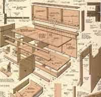 Office Desk Plans 50 Free Workbench Woodcraft Plans At Allcrafts Net