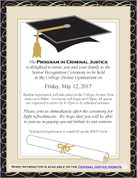 Example Of Wedding Ceremony Program Program In Criminal Justice Of Arts And Sciences