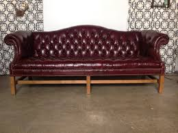 Tufted Leather Sofas Decor Burgundy Leather Sofa And Tufted Leather Sofa