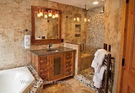 Rustic Bathroom Furniture Rustic Vanities Barn Wood Bath Vanity Aged Reclaimed Wood