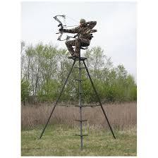 tripod deer stand tower stand deer tree stand sportsman u0027s guide