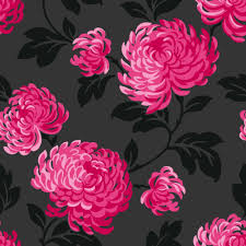 grey wallpaper with red flowers red flower wallpaper for walls dayri me