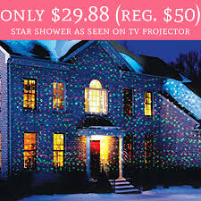 as seen on tv christmas lights only 29 88 regular 50 shower as seen on tv projector