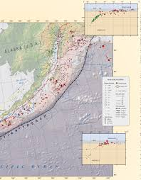 Aleutian Islands Map Good Friday Earthquake 1964 03 27 In Alaska Jay Patton Online