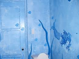 bathroom wall mural ideas exles of wall murals painted in bathrooms and powder