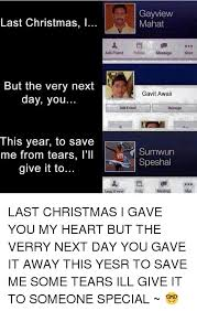 Last Christmas Meme - 25 best memes about last christmas i gave you my heart last