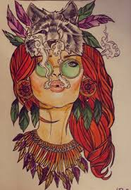 hippie tattoo design tattoos book 65 000 tattoos designs