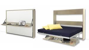 bureau escamotable lits donny 140 x 200 avec bureau escamotable un lit moderne pour