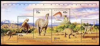 paleophilatelie eu dinosaur stamps of australia 1993