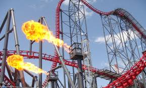 Six Flags Highest Ride 11 Most Thrill Roller Coaster Rides In The World Ride Now