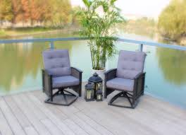 Swivel Rocker Patio Furniture Sets - palmetto deep seating
