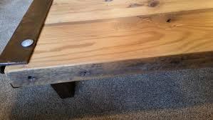 Industrial Rustic Coffee Table Buy A Custom Barn Wood Industrial Rustic Coffee Table Made From