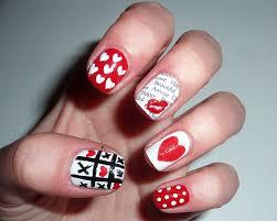 sophie jenner valentines day nail art