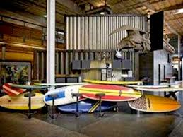 Surfboard Bar Table Tour Ad Agencies U0027 In House Bars Business Insider