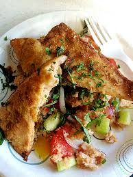 Ina Garten Panzanella Salad It U0027s Prime Michigan Tomato Time Time For Grilled Trout Over