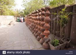 rock garden by nek chand saini rock garden of chandigarh india