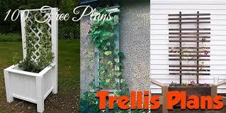 free trellis plans 100 free trellis plans at planspin com to build