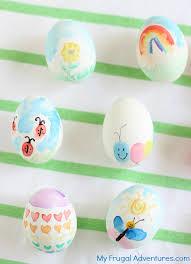 watercolor easter eggs my frugal adventures