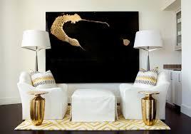 Black And Gold Living Room by Buckhead Condos Luxury Condos In Atlanta Ga Mandarin Oriental