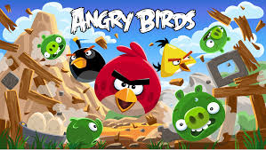 angry birds exhibit flying york hall science