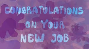 Congrats On New Job Card Congratulations U0027new Job U0027 Cards Ideal For Friends And Family