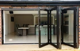 Bifold Exterior Doors Prices by Backyards Fold Doors Premium External Bifolding Ultragrey Full