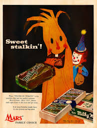 vintage halloween illustration vintage halloween candy advertisements
