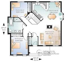 ranch house plans with open floor plan house plan w2163 v1 detail from drummondhouseplans com