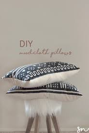 fair trade mudcloth pillows diy shae necessities blog