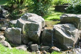 boulder landscaping u2013 the sensible gardener boulder examples