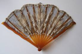 lace fans antique fans