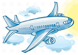 cartoon airplane clipart clipart kid pictureicon