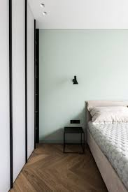 colourful accents offset grey walls in vilnius apartment basanavi iaus by akta studio