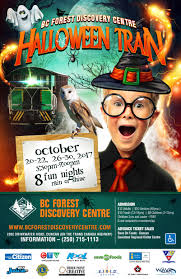 halloween bc forest discovery centre
