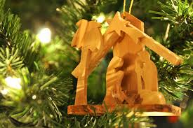 nativity ornaments rainforest islands ferry
