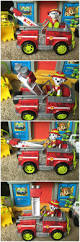 minecraft fire truck it u0027s the paw patrol jungle rescue marshall fire truck toy to the