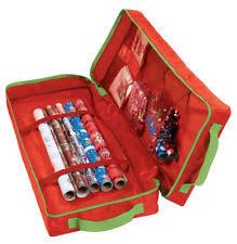 christmas wrap storage gift wrap storage ebay