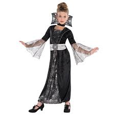 girls halloween costumes children girls wicked vampire witch goth spider queen halloween
