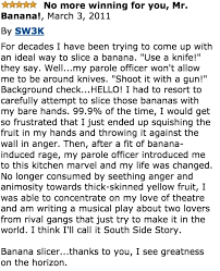 Banana Slicer Meme - these banana slicer reviews are the best things you ll read all day