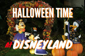 halloween time at disneyland 2015 diamond celebration youtube