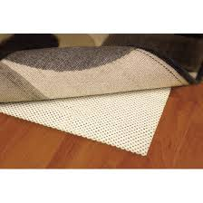 What Size Rug Pad For 8x10 Rug Cushioned Rug Pad Cream Target